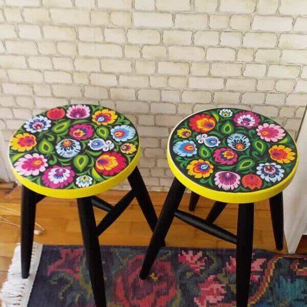 dekoratif-ahsap-tabure-cicek-desenli-43035