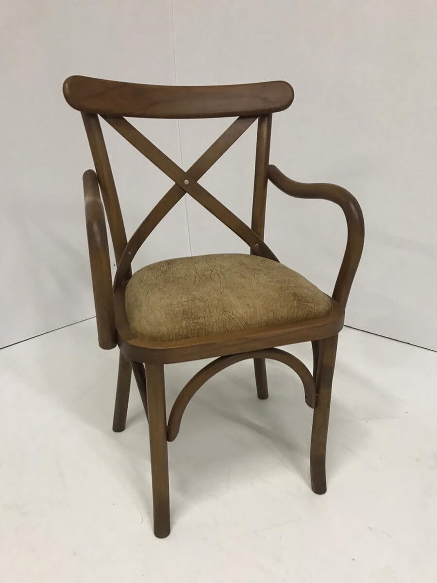 Döşemeli Kolçaklı Tonet Sandalye