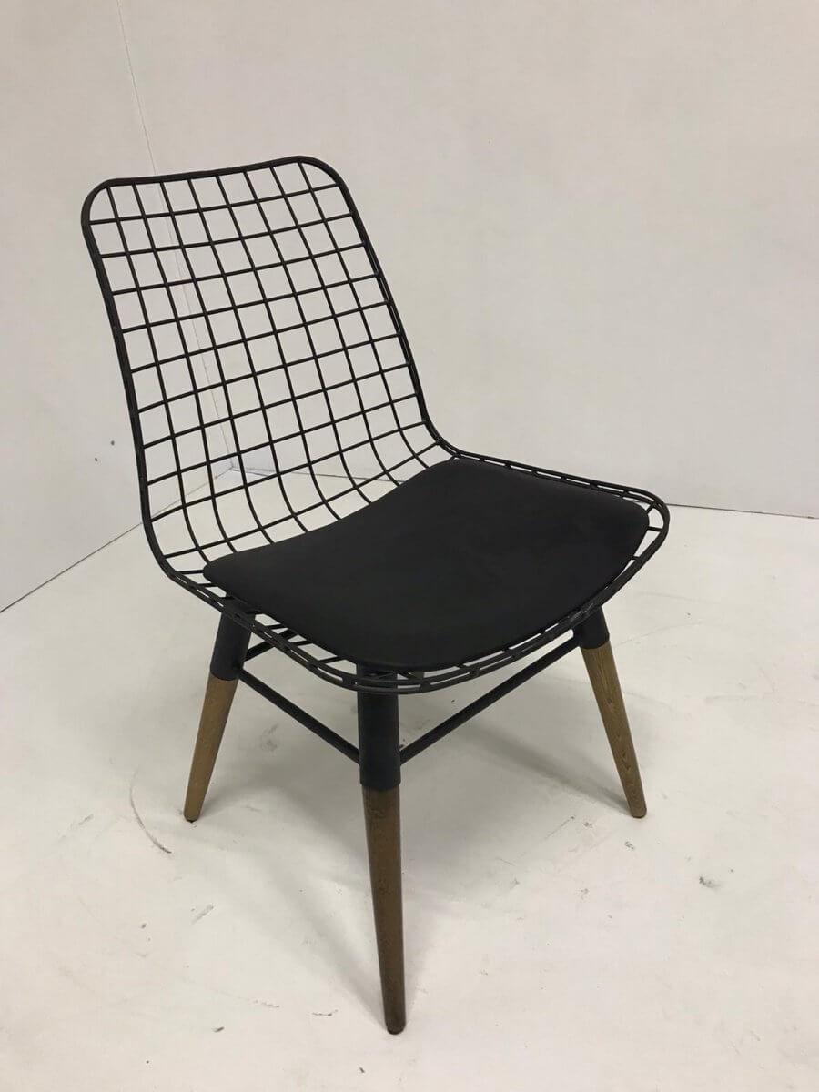 Kolsuz Tel Sandalye