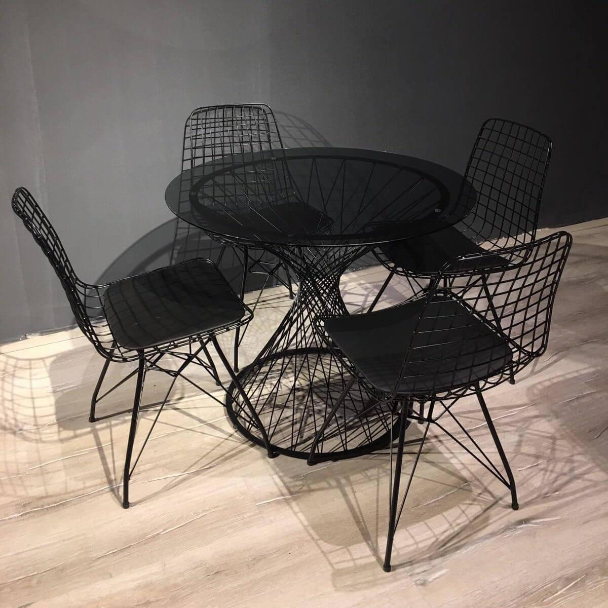 metal-masa-sandalye-takimi-yuvarlak-masa-siyah-46206